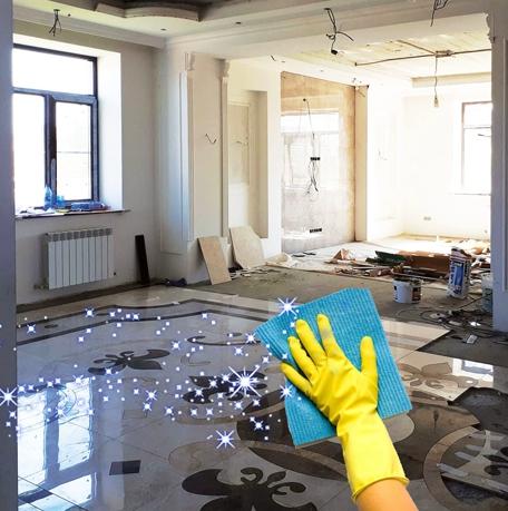 Услуга уборки после ремонта в Рязани